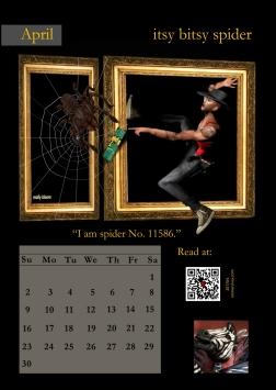 04 - April Itsy Bitsy Spider